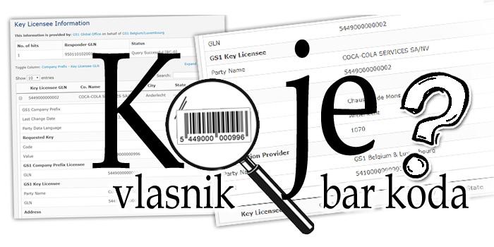 Bar kod - QR kod - Deklaracija - Dizajn, priprema za štampu i štampa