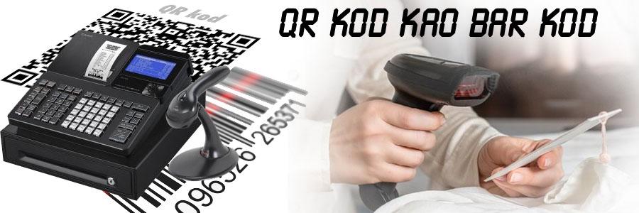 QR kod kao bar kod? Možemo li nekako izjednačiti ova dva koda? Možemo li QR kod koji je besplatan upotrebiti na kasi kao bar kod?