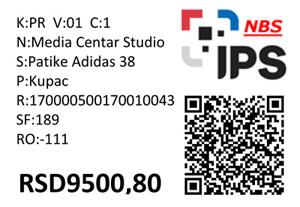 IPS QR kod štampa - izrada QR kod nalepnica i deklaracija. Umesto klasičnih cena i deklaracija postavite IPS QR kod obaveštenje